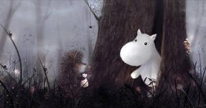 Moomin in Fog