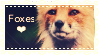 Fox stamp by LittleTornSoul