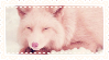 Pink Fox Stamp by LittleTornSoul