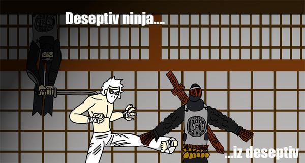 lolninja 822 vs serpent by purple-samurai
