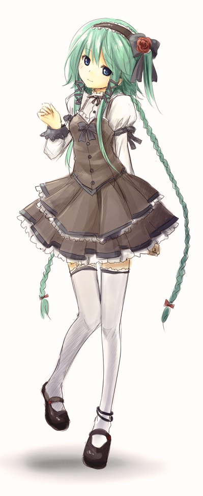 AE Lolita mascot by NickBeja