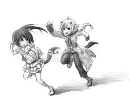 Seida and Astrid