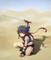 Swords of Edo: Asumi by NickBeja
