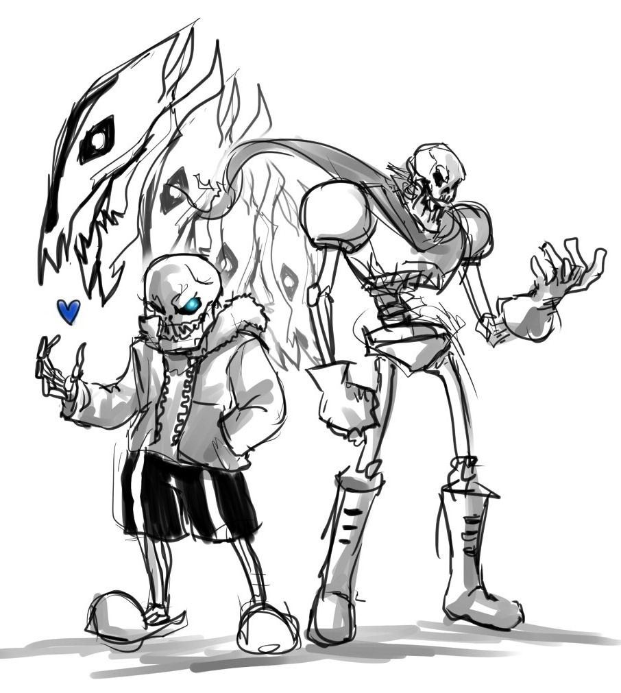 sans papyrus by nickbeja on deviantart