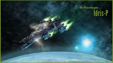 Star Citizen - Idris P (wallpaper) by TheOrigin79