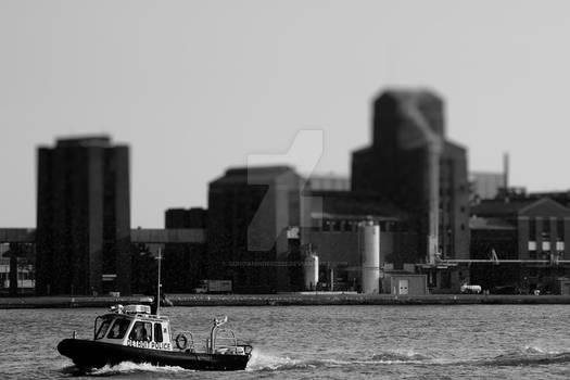 Detroit river