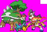 Ash's Sinnoh Team Sprite by Flamejow
