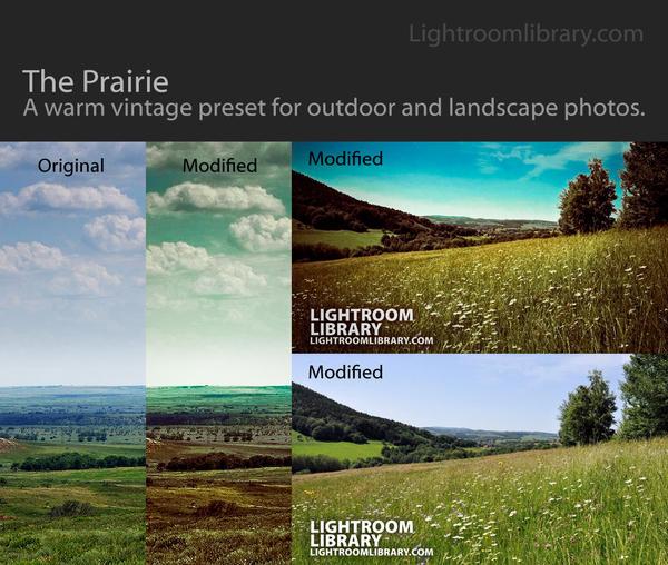 The Prairie - Lightroom Preset
