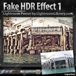 Lightroom Preset - HDR Effect