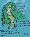 PSA: End Incidental Mermaid Snuff by KatrinaTheLamia