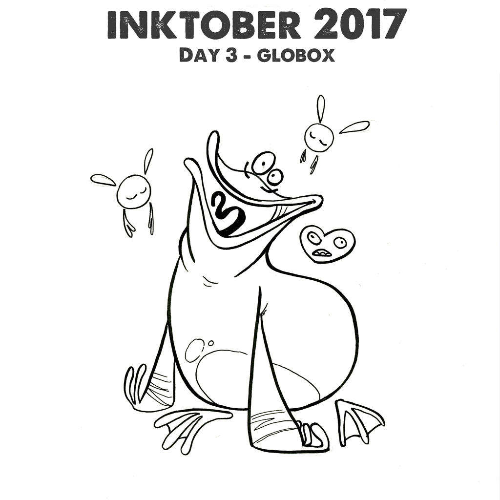 rayman legends coloring pages - inktober 2017 day 3 globox from rayman by derpberd on