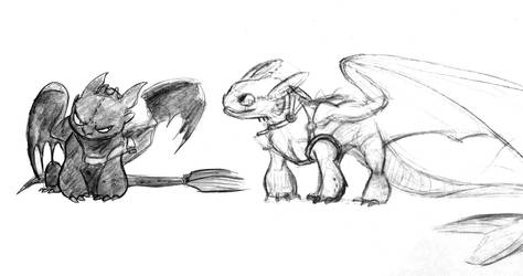 Toothless Sketches