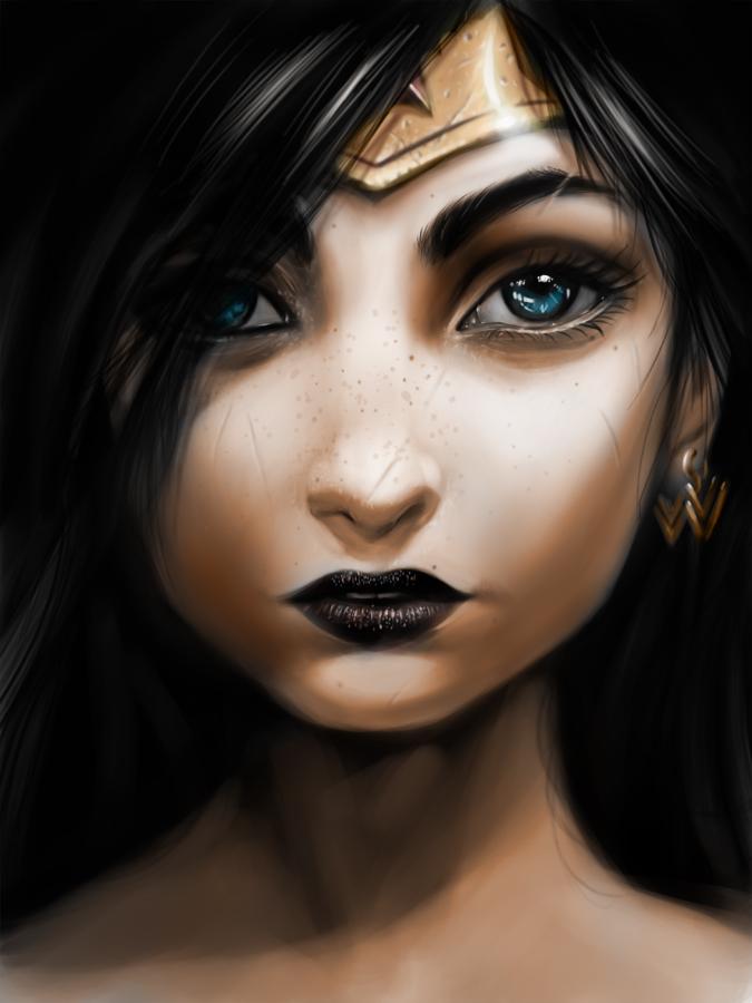 Warrior Princess - Wonder Woman by jmont