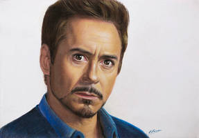 Drawing Iron Man by VasilArt