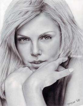 Charlize Theron-drawing