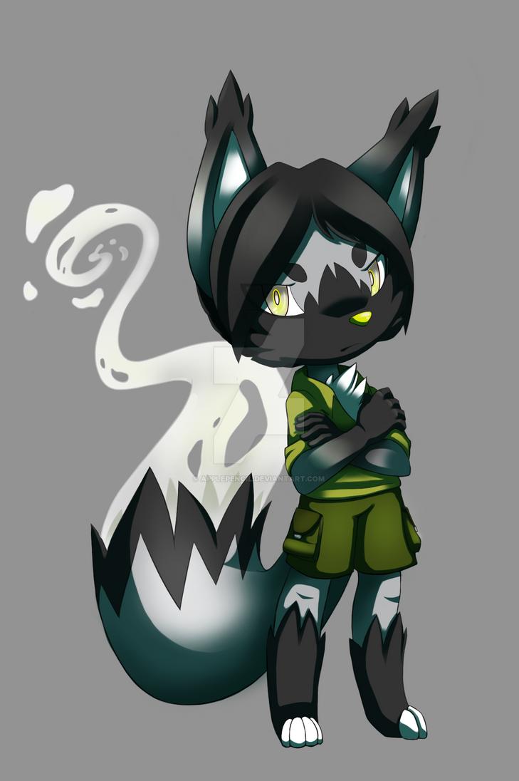 Ghost-boy Garrett (Early2015) by ApplePencil