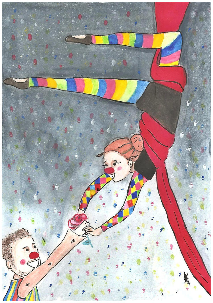 O Palhaco e a Bailarina by AndyBorges