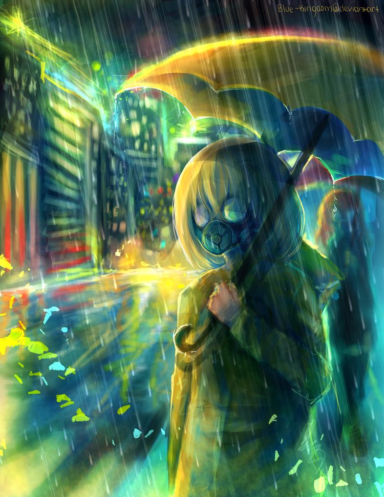 Toxic city by blue-kingdom