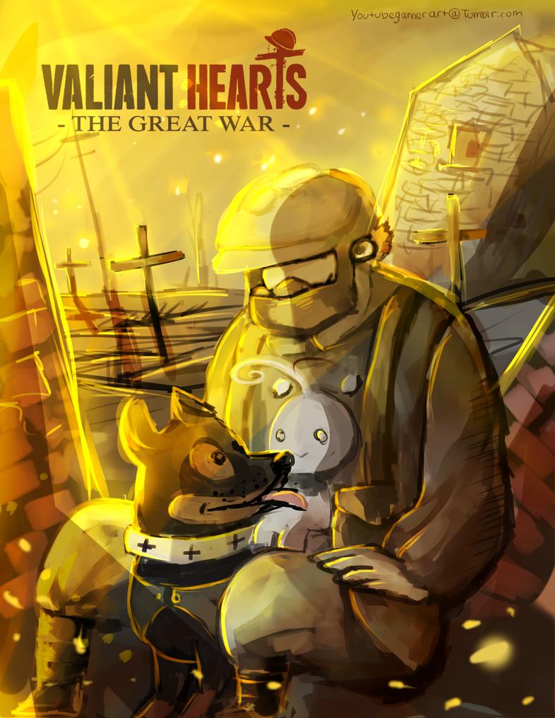 Valiant hearts by blue-kingdom