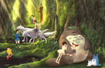 Ghibli Studio Forest