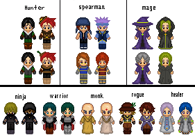 Character-design by L3Moon-Studios