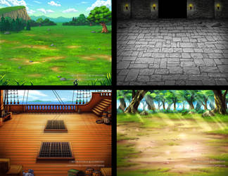 Commission-Battle BG by L3Moon-Studios