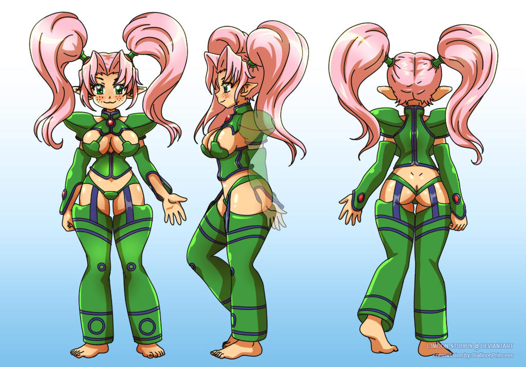 Character Design Commission Price : Commission character sheet by l moon studios on deviantart