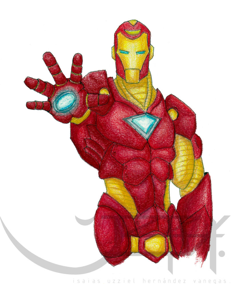 Iron man color by IUHV