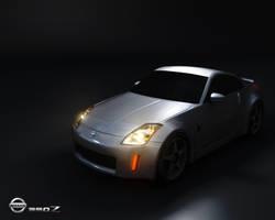 Nissan 350Z_VividLighted by yakuzatemplarlol