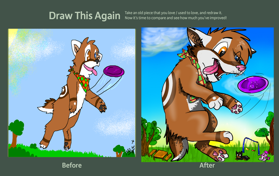 .:CE:. Frisbie!!! by Squirrelings