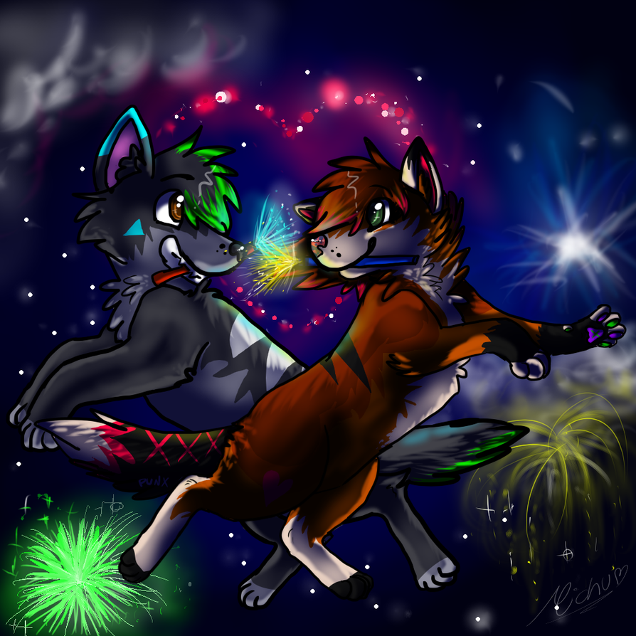 .:|~Happy new year!~|:. by Squirrelings