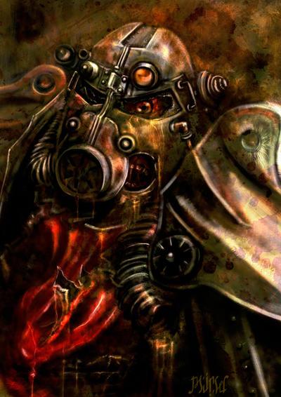 Brotherhood of Flesh _ Fallout by Mingrune