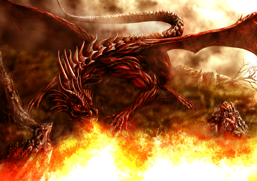 dragon fire by mingrune on deviantart