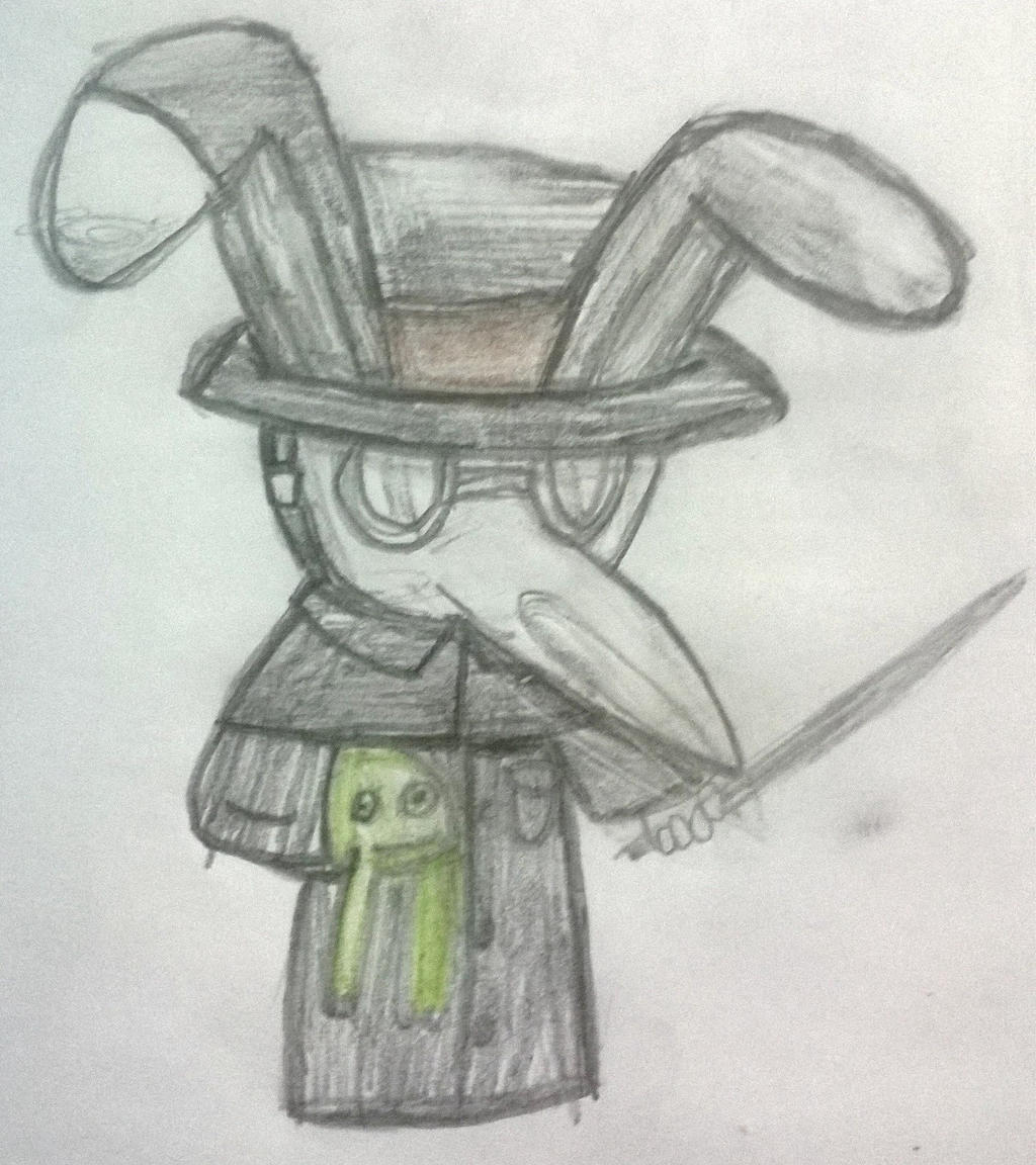 ... Nicholas and Mr. Fifi is Plague Doctor O.O by CubaSandwichPL