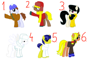 Pony Oc Snow Town adoptions #1 FREE! (CLOSES)