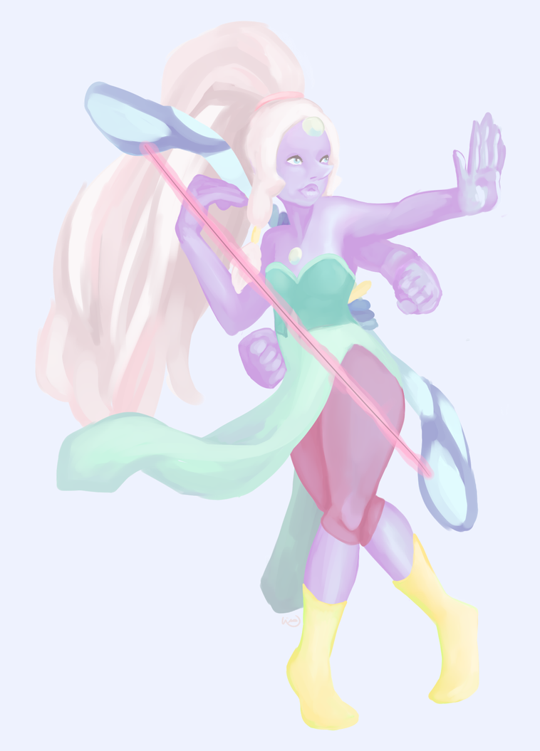 Opal from Steven Universe! by K1ND