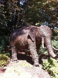 Wicker elephant by anubishawk