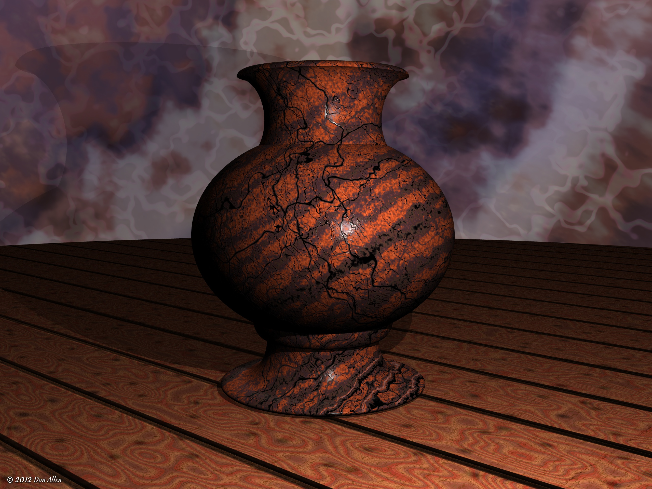 Ceramic Vase by Don64738
