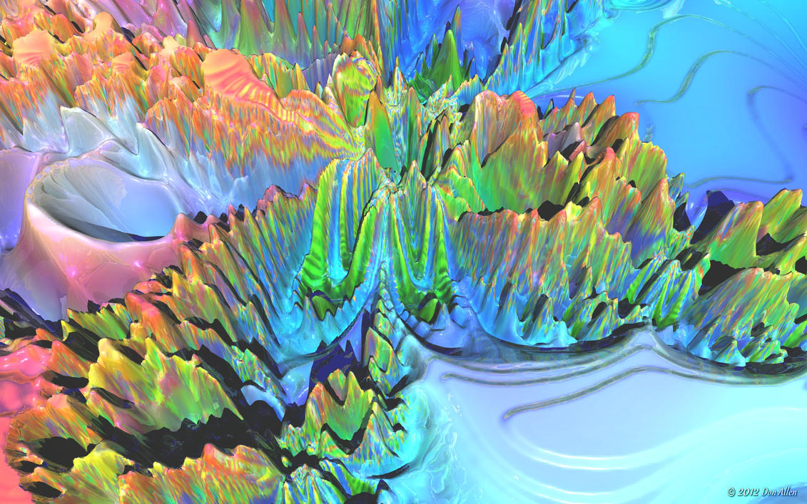 3D Fractal Wide 20 by Don64738