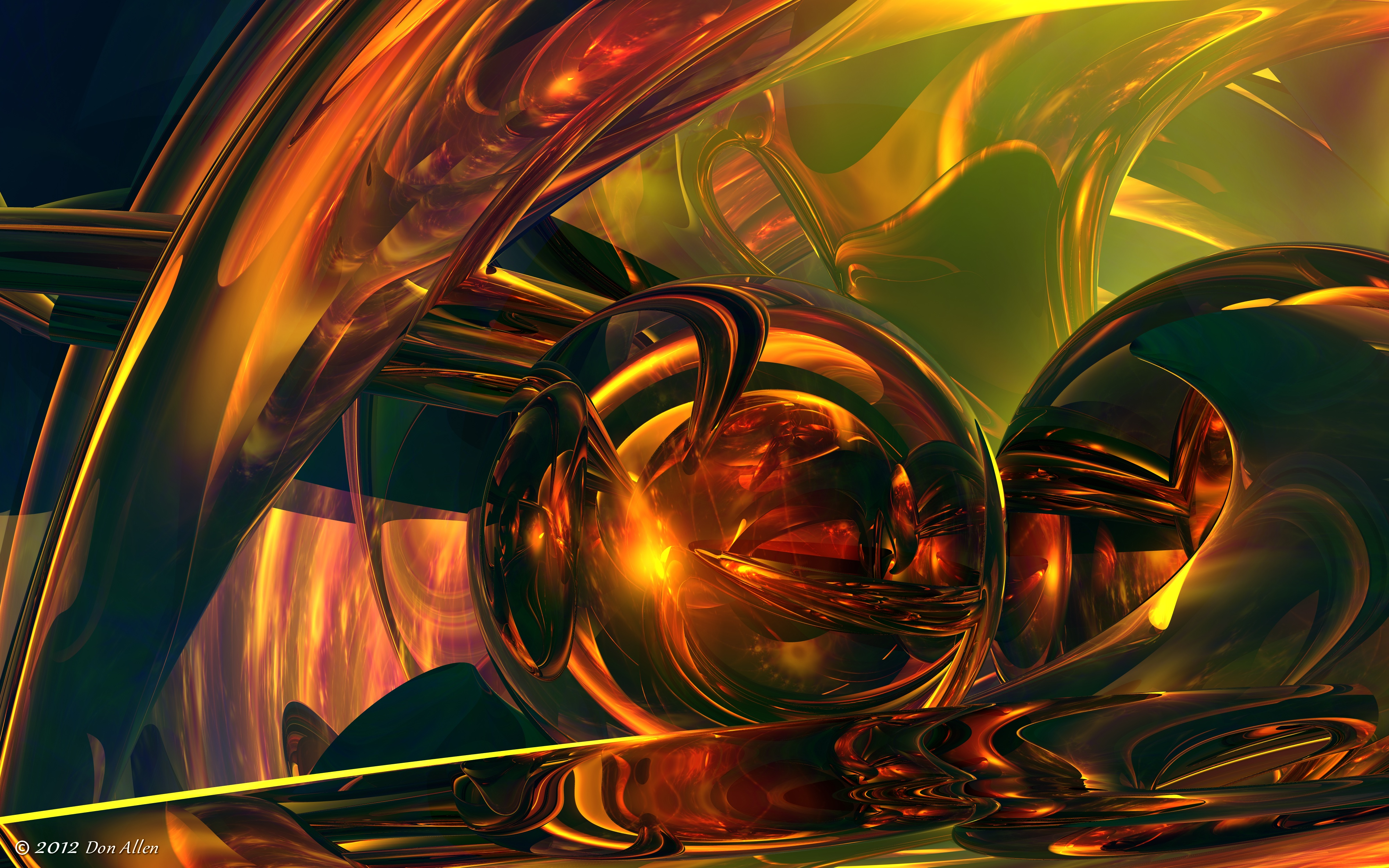 3D Abstract 36 by Don64738
