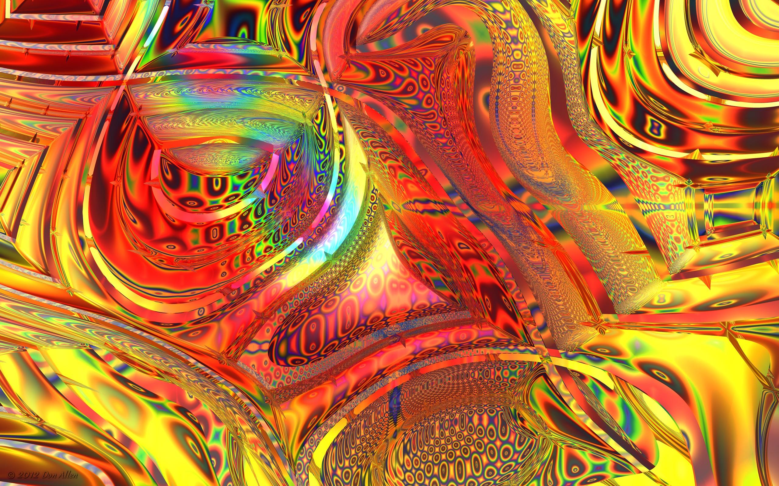 Rampant Rainbows by Don64738