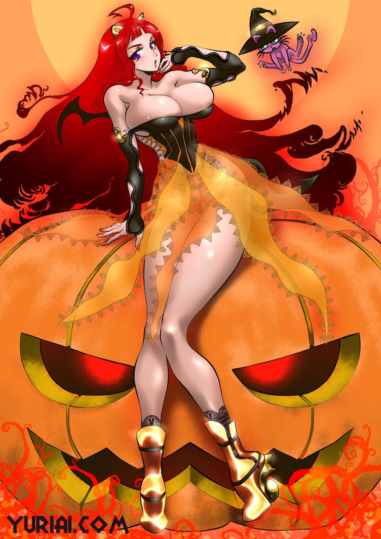 Halloween Girl by yuriai-dA