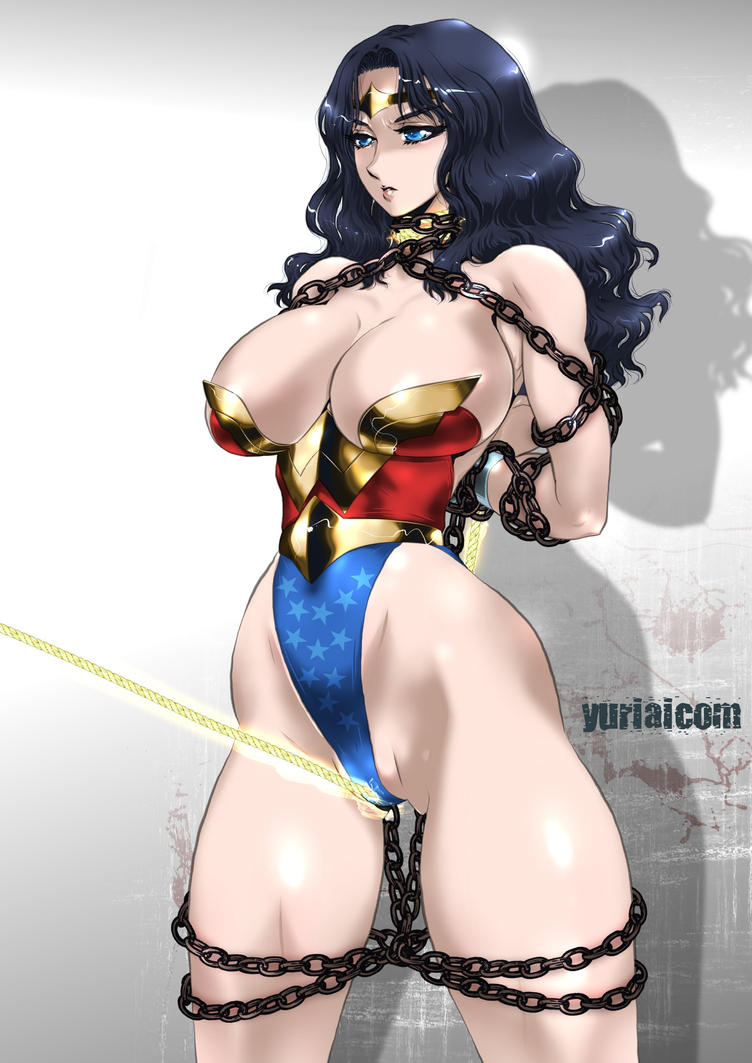 Wonder woman gets captured-9275