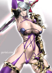 Ivy from SC6 by yuriai-dA