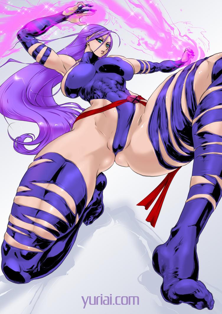 Psylocke by yuriai-dA