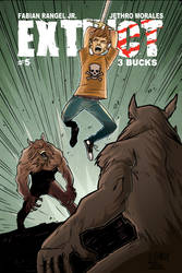 Extinct Issue 5 Cover