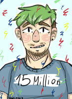 Congrats to 15 Million by Nati-likes-lizards