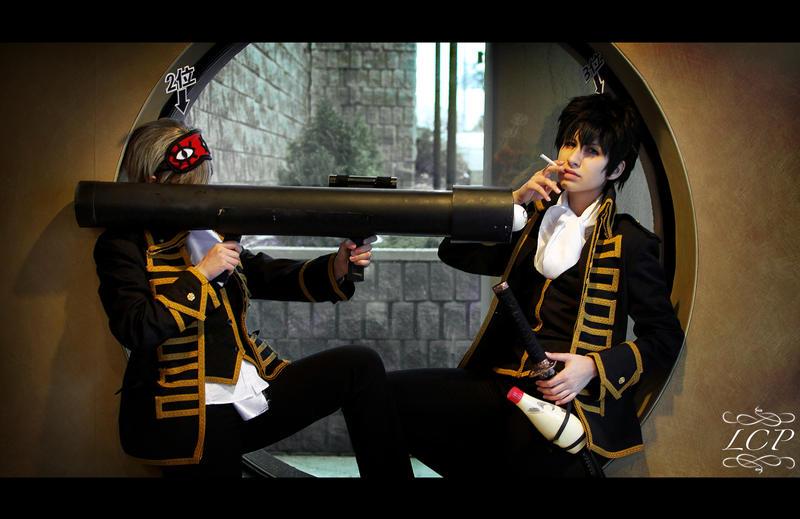 Gintama: Bazooka vs. Smoke? by LiquidCocaine-Photos