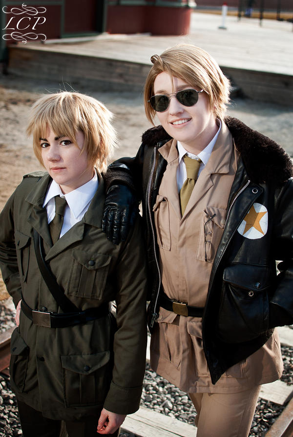 Hetalia: USUK by LiquidCocaine-Photos