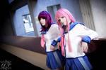 Angel Beats - Yuri + Yui